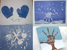 handprint crafts (Winter) mittens are so cute for bulletin board