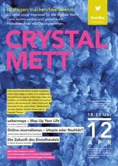 Crystal Mett - #nmfka am 12. April 2016 bei uns netzstrategen. Veranstaltungshinweis: https://www.facebook.com/events/947074195407768/ #crystalmett #crystalbeck
