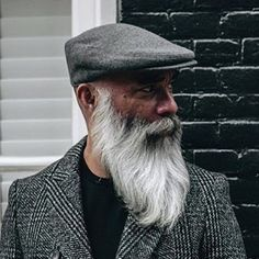 Hats off, Zippertravel. Grey Beards, Long Beards, Beard Growth, Beard Care, Beard Rules, Viking Beard, Beard Look, Beard Model, Beard Styles For Men