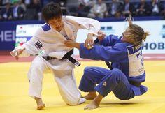 Telma Monteiro vice-campeã mundial de judo