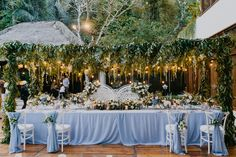 Bridal Table from the Wedding of Clara & Ali Bridal Table, Bali Wedding, Destination Wedding Planner, Table Decorations, Wedding Planer, Dinner Table Decorations
