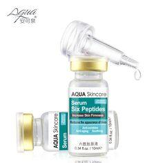 六ペプチド血清アンチエイジングと抗しわ肌がスムージングと水分restioring 2016最高のスキンケア製品