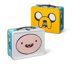 Adventure Time Lunchbox from ThinkGeek. Saved to It's Adventure Time! Totoro, Cartoon Network, Adventure Time, 17 Kpop, Finn The Human, Jake The Dogs, What Time Is, Gift Of Time, Comic Book Characters