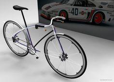 Bike concept for the Fast Company / Porsche Next Design Challenge