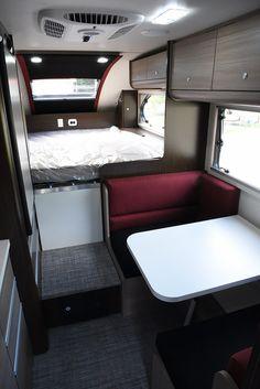 Cirrus 820 interior camper
