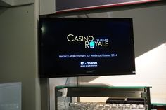 Die Thomann Weihnachtsfeier 2014 - Diesmal im Motto Casino Royale.  The Thomann Christmas Party 2014 - Theme: Casino Royale