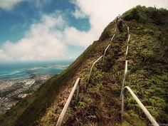 Hidden Haiku Stairs in Oahu