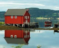 norwegian timber houses - Google Search