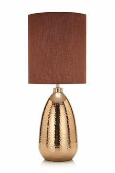 Buy Nomad Copper Finish Table Lamp from the Next UK online shop