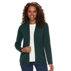 9fb92367b2d Women s Croft   Barrow® Essential Open Front Cardigan