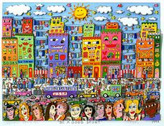 James Rizzi -very cool.