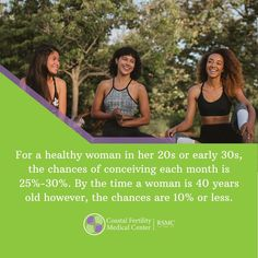 Did you know a woman's chances of conceiving can drop from 30% to 10% by the time she is 40 years old? There are options available to help you preserve your fertility. Coastal Fertility is ready to support your family building plans. Click the below link to schedule a consultation with our medical professionals