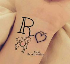 66 Trendy Tattoo Rose Name Pictures Alphabet Tattoo Designs, Alphabet Letters Design, Alphabet Images, Cute Letters, Picture Letters, Love My Parents Quotes, Love Quotes For Boyfriend, Cute Baby Wallpaper, Name Wallpaper