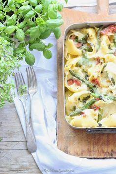 Conchiglioni al forno con verdure