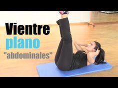 VIENTRE PLANO:Rutina de ejercicios de abdominales - YouTube