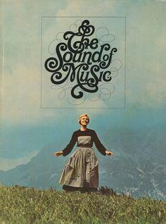 THE SOUND OF MUSIC Movie Promo POSTER E Julie Andrews Christopher Plummer