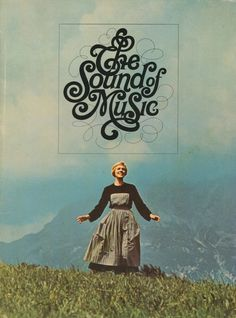 THE SOUND OF MUSIC Movie Promo POSTER E Julie Andrews Christopher Plummer