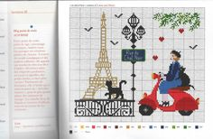 Gallery.ru / Фото #30 - Calendario 2015 - Chepi Cross Stitch Embroidery, Cross Stitch Patterns, Le Point, Creations, Bullet Journal, Knitting, Crochet, Handmade, Crafts