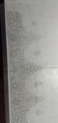 Hand Embroidery Design Patterns, Hand Embroidery Projects, Hand Embroidery Videos, Embroidery Art, Kurti Embroidery, Pattern Art, Pattern Design, Jewelry Design Drawing, Mandala Art Lesson