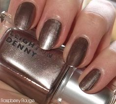Raspberry Rouge: A Week In Nails. Leighton Denny Little Minx