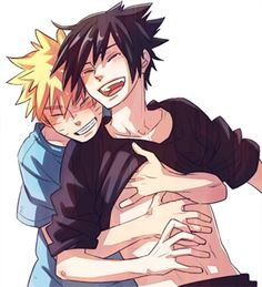 So beautiful together :3~~  #naruto #sasuke #gay #couple #yaoi #narusasu #sasunaru #anime #animeboy