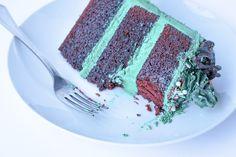 #layercakes #foodphotography  #cakes #RedVelvetCake  --Instagram- @whippedbyhelen