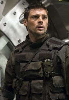 Karl Urban - Don't know which movie this is from but love this photo.