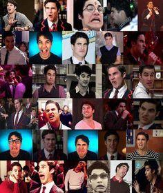 The weird faced of one Darren Criss