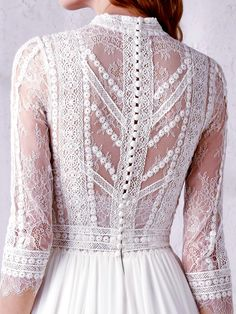 "The post ""Bohemian with a chic touch and the delicateness of the most exquisite romantici… appeared first on How To Be Trendy. The post ""Bohemian with a chic touch and the delicateness of the most exquisite romantici… appeared first on How To Be Trendy. Boho Chic Wedding Dress, Dream Wedding Dresses, Boho Dress, Bridal Dresses, Wedding Gowns, Lace Dress, Prom Dresses, Dress Up, European Wedding Dresses"