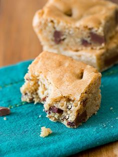 Sally's Brown Butter Chocolate Chunk Blondies