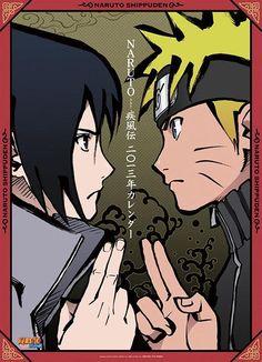 Naruto 2013 Calendar