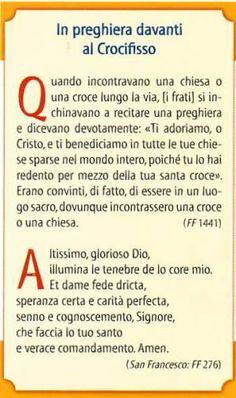 Gi.Fra. Bitetto - Il Crocifisso di S.Damiano - Preghiere