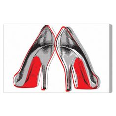 Found it at AllModern - Fire In Your New Shoes Canvas Art