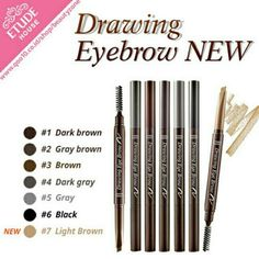 SALE !! Drawing Eyebrow Etude House Ready Stock Grey and Brown Best Seller seharga Rp35.000. Dapatkan produk ini hanya di Shopee! https://shopee.co.id/nraprilia/506317128/ #ShopeeID