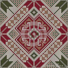 Illustration about Knit texture seamless pattern. Illustration of handicraft, fashion, embroidery - 43084708 Needlepoint Patterns, Cross Stitch Patterns, Palestinian Embroidery, Texture Vector, Crafty Craft, Handicraft, Bohemian Rug, Swatch, Ornaments