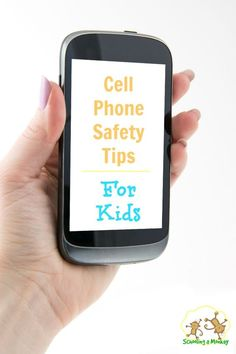 Kids have a cell phone? Scared for their safety? Use these cell phone safety tips to keep your kids safe when using a smart phone!