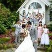 Anjolique Bride in a beautiful outdoor garden wedding