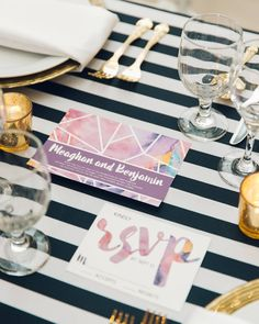 I love this shot that @thehonsphoto got of our custom invitations at the @atlanticcenter PWG networking event from last month! Thanks for coordinating everything @rebekkahjoy [ : @thehonsphoto ]