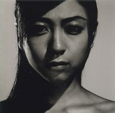 """my other soulful Japanese-Pop Goddess: Utada Hikaru. This is the cover of the 4th album """"Deep River"""" my  personal favorite."""