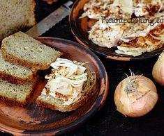 Słonina w słonej marynacie z przyprawami | Picantecooking Baked Potato, Bacon, Pork, Dairy, Menu, Potatoes, Bread, Dinner, Ethnic Recipes