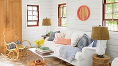48 Living Rooms with Coastal Style
