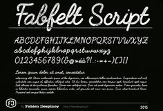 Font of the day: Fabfelt Script