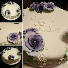 Diese wunderschöne Torte hat Sara gezaubert. Vielen Dank für das Bild.  Schaut im Shop vorbei:   http://www.tolletorten.com/advanced_search_result.php?keywords=Rosen&x=0&y=0