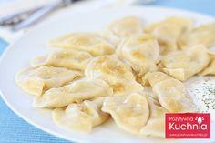 Pierogi ruskie Polish Recipes, Polish Food, Beef Stroganoff, Cebu, Food Videos, Macaroni And Cheese, Food And Drink, Pierogi, Dinner