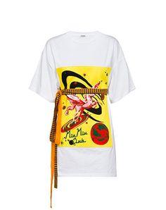 Miu Miu - Jersey - Yellow - United States - MJM959_1NIK_F0010