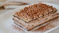 Semifreddo mascarpone e crema di nocciole: la ricetta del dessert super goloso Krispie Treats, Rice Krispies, Cupcakes, Tiramisu, Mousse, Dolce, Ethnic Recipes, Desserts, Latte