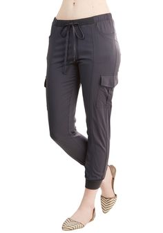 Save the Best for Relax Pants in Charcoal