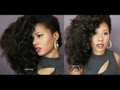 Easy Side Twist Out Hairstyle