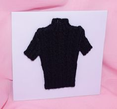 "TONNER 16"" TYLER WENTWORTH COOL BLACK SWEATER TOP FITS SYDNEY BRENDA STARR #Tonner #ClothingAccessories"