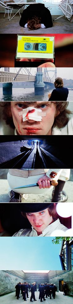 Seek not to be like evil men. Neither desire to be with them because their minds studieth robberies and their lips speak deceits. If thou lose hope, being weary in the days of distress thy strength shall be diminished. #clockworkorange